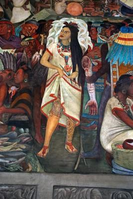 Frida Kalho ritratta da Diego Ribera