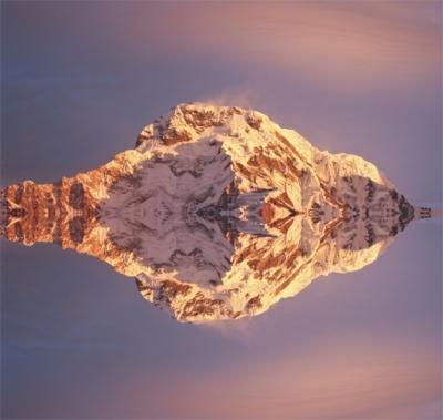 luigi feliziani vetta dell'Anapurna Nepal